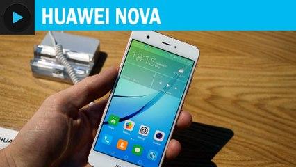 Huawei Nova : prise en main vidéo