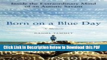 Born On A Blue Day By Daniel Tammet Pdf Download