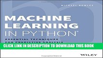 PDF] Python Machine Learning Cookbook Popular Colection - video