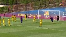 Un jeune du Barça imite Rivaldo et Ronaldinho sur coup franc