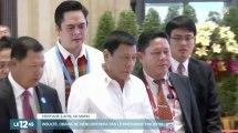 """Le président philippin traite Barack Obama de """"fils de pute"""" - ZAPPING ACTU DU 06/09/2016"""