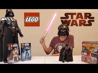 Lego'nun Star Wars Serisinden Darth Vader Figürünü Yaptık