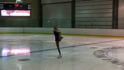 2016 Sask Skate Invitational & Sask Open Singles Competition- Pre-Novice Woman Short Program Grp 4