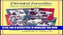 [PDF] Divided Families: What Happens to Children When Parents Part (Family   Public Policy) Full