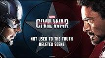 Captain America 3: Civil War Scène coupée - Black Panther and Black Widow
