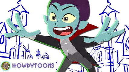 The Making of It's Halloween | Halloween Songs for kids by Howdytoons