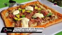 ¿Cómo preparar una Pizza Tex Mex ?  [Colombia.com]