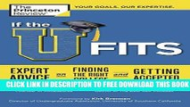 Collection Book If the U Fits: Expert Advice on Finding the Right College and Getting Accepted