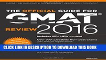 New Book The Official Guide for GMAT Review 2016 with Online Question Bank and Exclusive Video