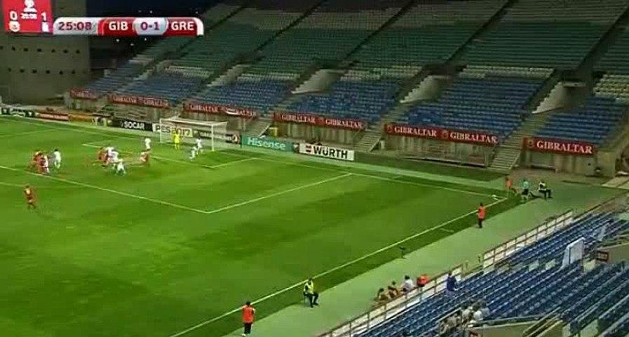Liam Walker Goal HD - Gibraltar1-1Greece - 06-09-2016