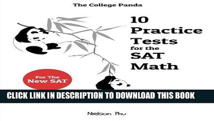 Collection Book The College Panda s 10 Practice Tests for the SAT Math
