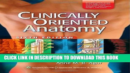 Collection Book Clinically Oriented Anatomy, 6th Edition