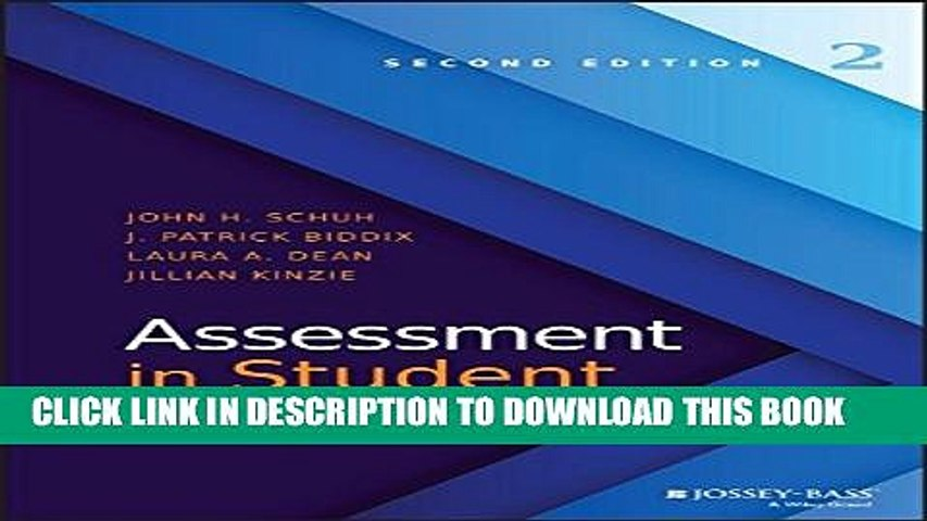 New Book Assessment in Student Affairs
