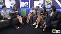 Kristen Schaal & Josh Horowitz Share Some Magic Moments   Comic Con 2016   MTV