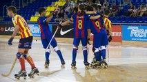 [HIGHLIGHTS] HOQUEI PATINS (Lliga Catalana): FC Barcelona Lassa B – CP Manlleu (5-4)