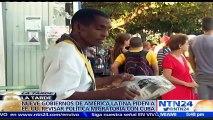 Gobiernos de América Latina piden a EE.UU. revisar política migratoria con Cuba
