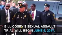 Bill Cosby's sexual assault trial set for June 2017