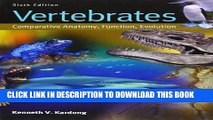 [PDF] Vertebrates: Comparative Anatomy, Function, Evolution Popular Collection