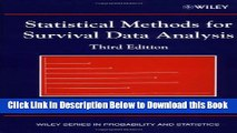 [Reads] Statistical Methods for Survival Data Analysis Free Books