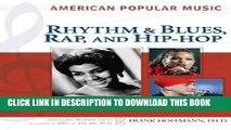 [PDF] Rhythm and Blues, Rap, and Hip-Hop (American Popular Music) Full Online