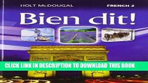 [PDF] Bien dit!: Student Edition Level 2 2013 (French Edition) Full Collection