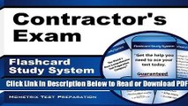 [Get] Contractor s Exam Flashcard Study System: Contractor s Test Practice Questions   Review for