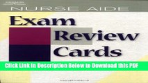 [Read] Nurse Aide Exam Review Cards (Test Preparation) Full Online