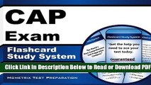 [Download] CAP Exam Flashcard Study System: CAP Test Practice Questions   Review for the Certified