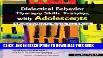 Collection Book Dialectical Behavior Therapy Skills Training with Adolescents