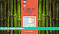 FREE DOWNLOAD  Michelin Wales/West Country/Midlands, Great Britain Map No. 403 (Michelin Maps