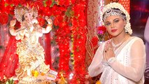 Rakhi Sawant Turns Radha For Her Ganpati   Ganpati Celebration TellyMasala