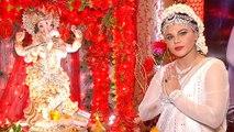 Rakhi Sawant Turns Radha For Her Ganpati | Ganpati Celebration TellyMasala