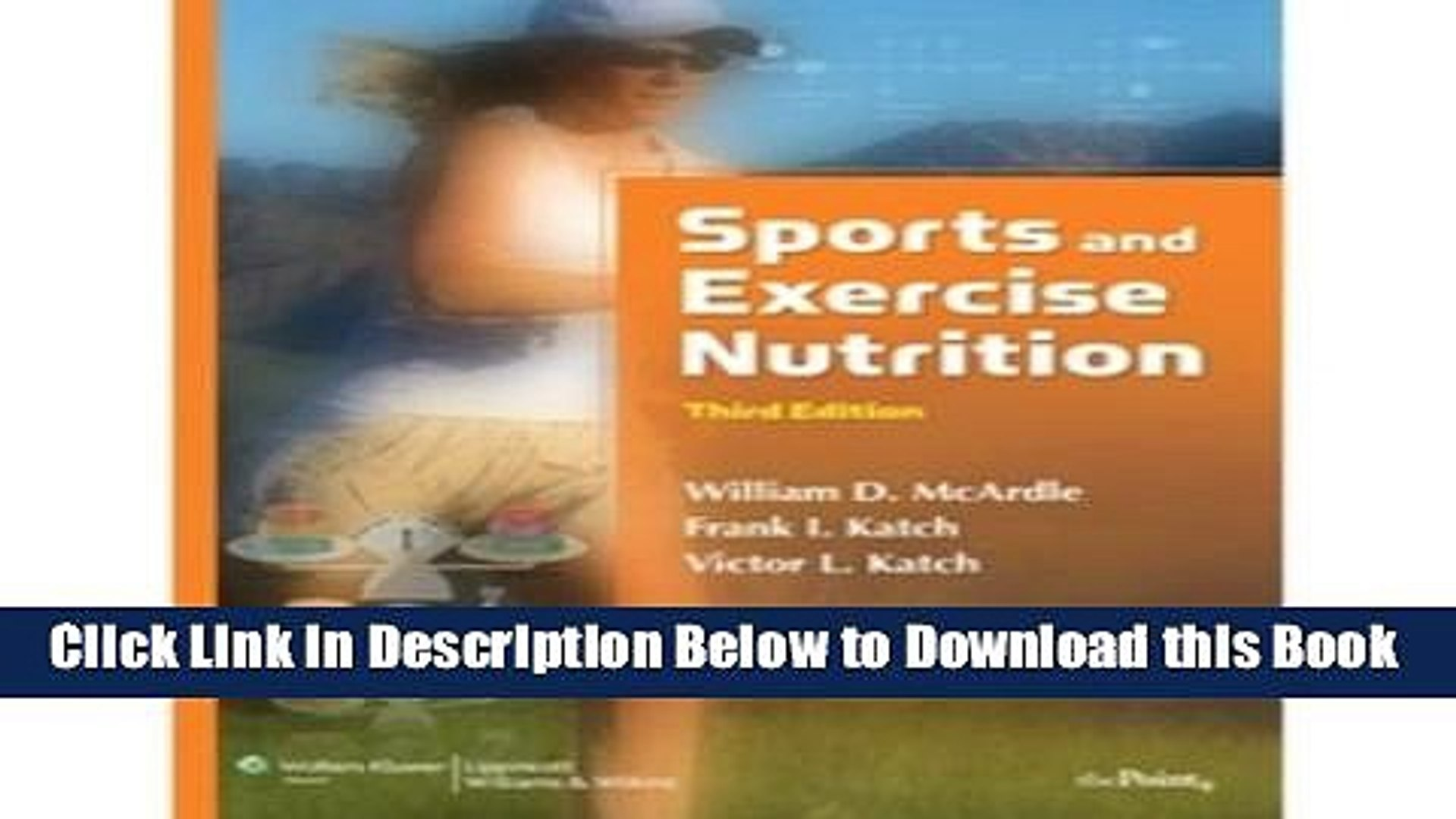 Best Sports And Exercise Nutrition Online Ebook Video Dailymotion