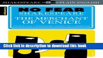 Read The Merchant of Venice (SparkNotes No Fear Shakespeare)  Ebook Free