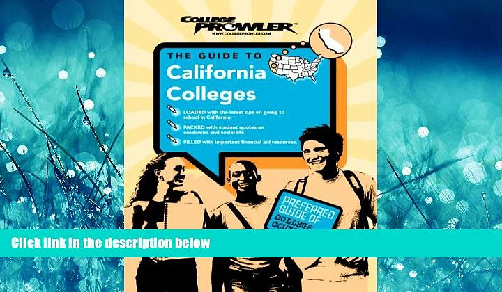 Choose Book California Colleges (College Prowler) (College Prowler: California Colleges)