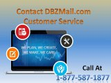 Contact DBZmail.com Customer Service Phone Number 1-877-587-1877
