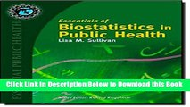 [Reads] Essentials of Biostatistics in Public Health (Essential Public Health) Online Books