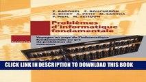 New Book Problèmes d informatique fondamentale: Voyages au pays de l informatique fondamentale au