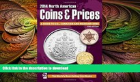 FAVORITE BOOK  2014 North American Coins   Prices: A Guide to U.S., Canadian and Mexican Coins