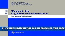 Collection Book Trust in Cyber-societies: Integrating the Human and Artificial Perspectives