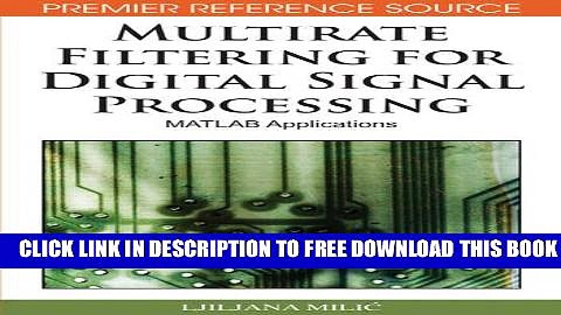 Collection Book Multirate Filtering for Digital Signal Processing: MATLAB  Applications