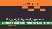 Collection Book Object Oriented Analysis and Design Using UML