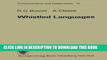 [PDF] Whistled Languages (Communication and Cybernetics) Full Collection