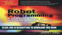 Collection Book Robot Programming : A Practical Guide to Behavior-Based Robotics