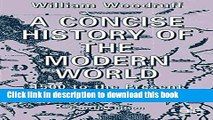 A Concise History of the Modern World: 1500 to the Present:  A Guide to World Affairs, Fourth Edition