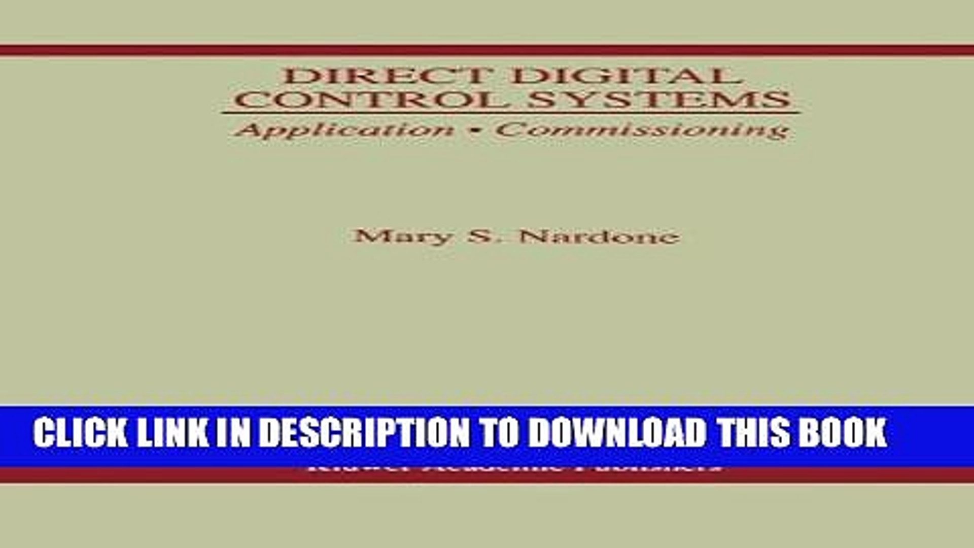 Application /· Commissioning Direct Digital Control Systems