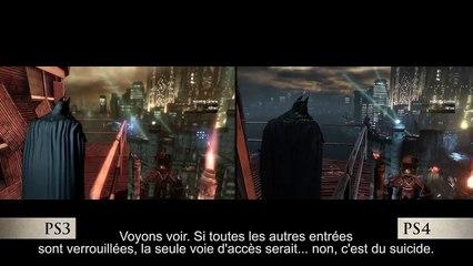 BATMAN Return to Arkham - Comparaison Graphique PS4 Vs PS3