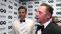 GQ Awards: Chris Pine and Simon Pegg on partying together