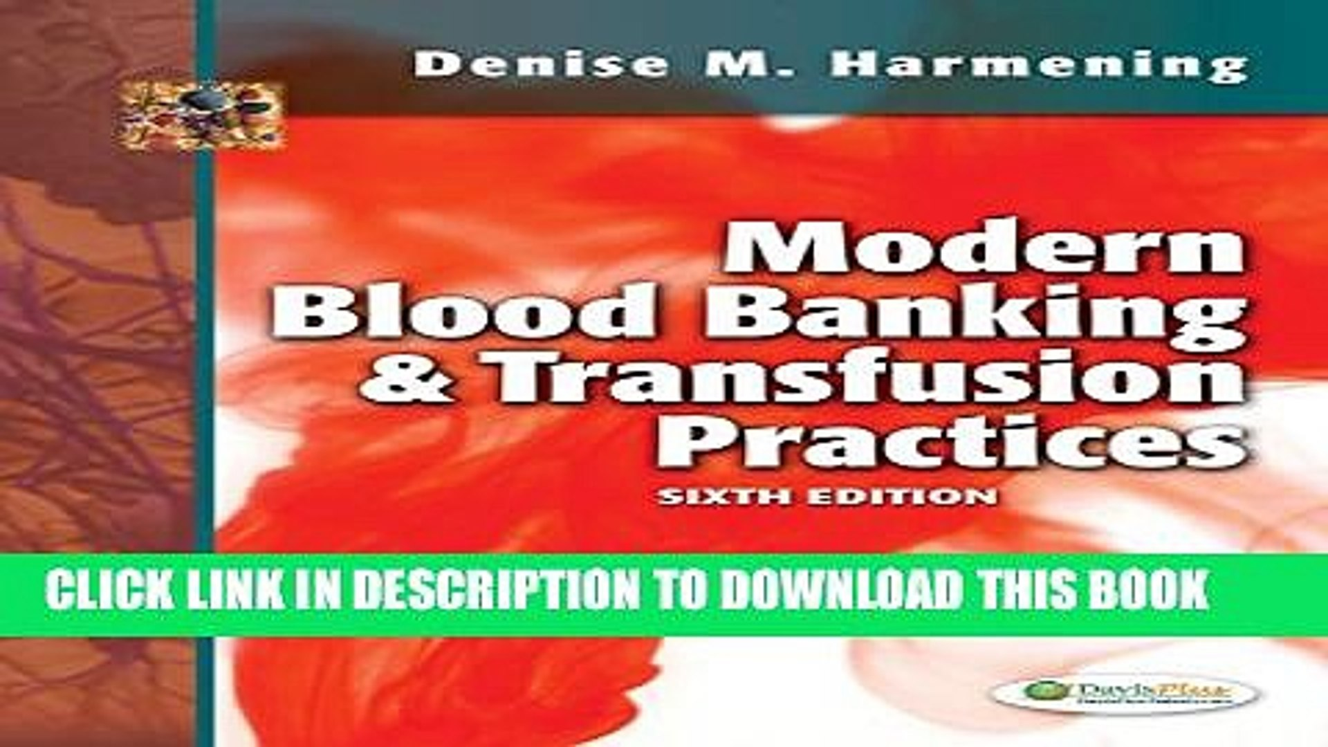 [PDF] Modern Blood Banking and Transfusion Practices Full Online