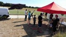 2016 Ball trap laser tir de dos